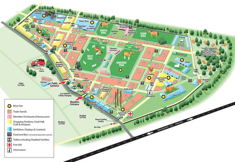 New Forest Show 3D map
