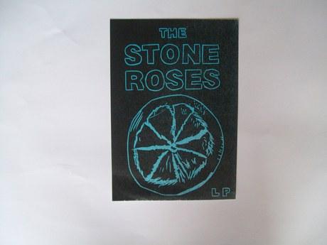 Stone Rose Lino Print