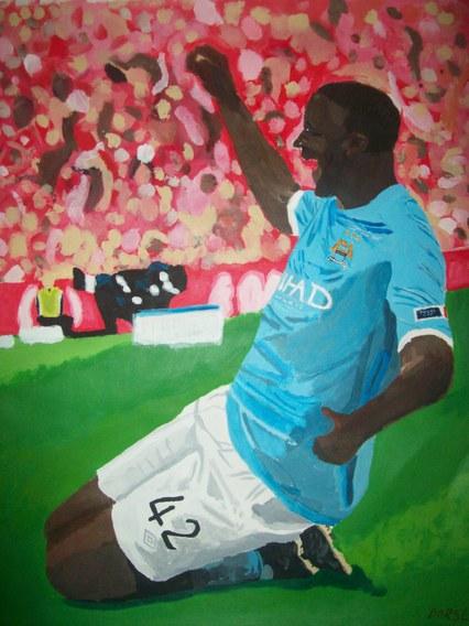 Yaya Toure Painting