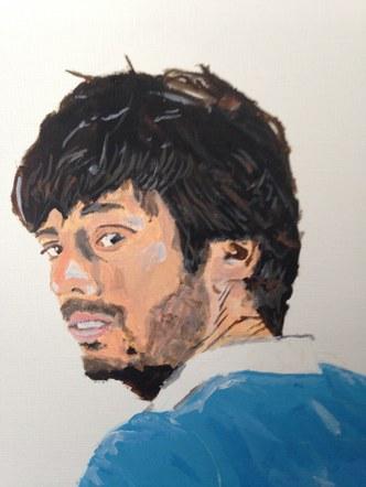 David Silva Acrylic Painting