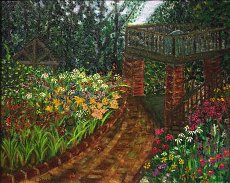 Summer Calendar Garden