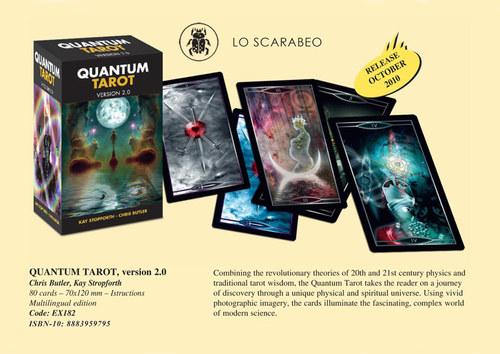 Quantum tarot 2.0. Lo Scarabeo. 2010. 81 full colour illustrations