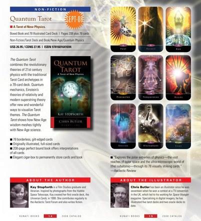 Quantum Tarot. Kunati Inc. 2008. 79 full colour illustrations.