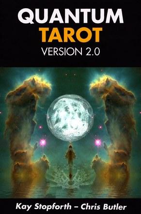 Quantum tarot 2.0. Box front artwork.