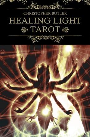 Healing Light Tarot. Deck and Book Set. Box rear artwork.