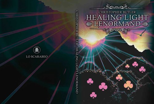 Healing Light Lenormand. Deck and Book Set. Book cover.