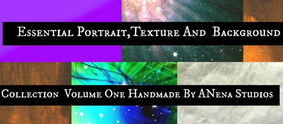 Instant Downloads!!! Essential Portrait, Texture and Background Collection Volume One