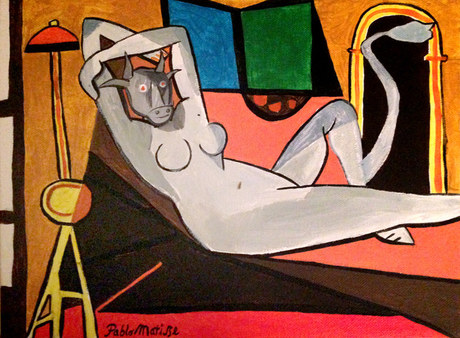 Europa Reclining, by Pablo Matisse