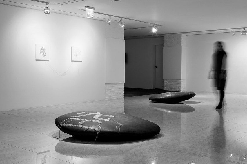 Black stone series_installation view