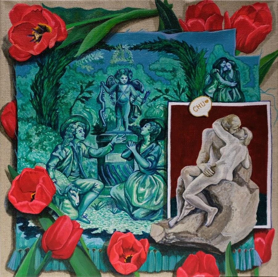 Lovers_Acrylic on canvas