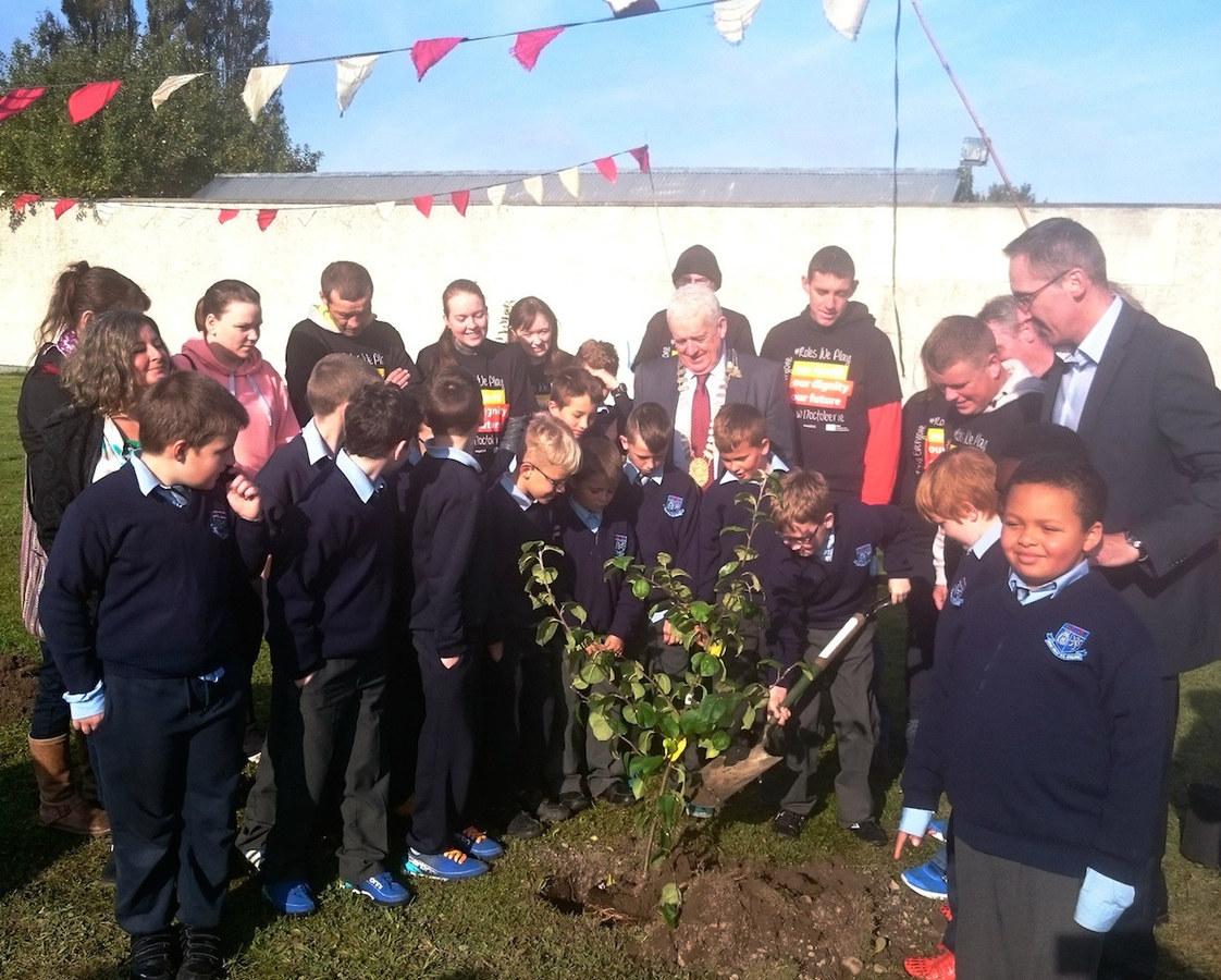 Planting Heritage Apple Trees