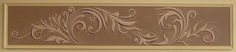Scroll Mural Panel