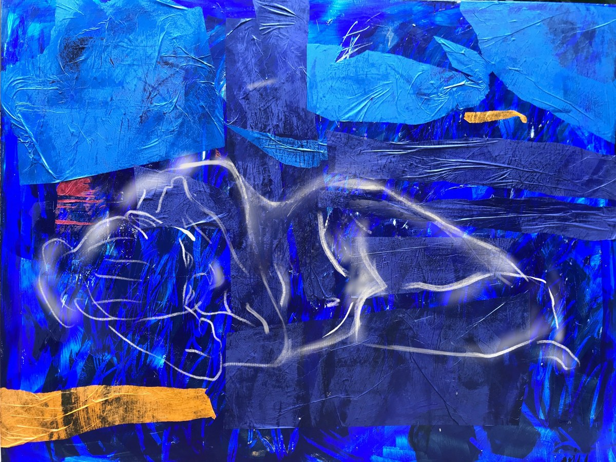 Solitude in Blue