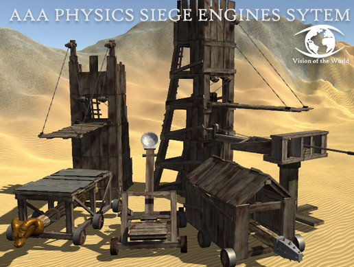 AAA Physics Siege Engines System