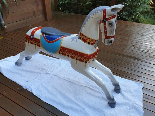 Carousel Horse - Western Australia Museum 2020