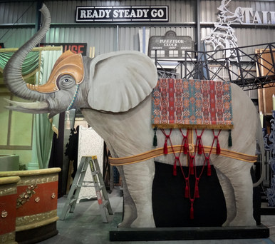 Phantom of the Opera (Elephant prop) - Assistant Scenic Artist 2013