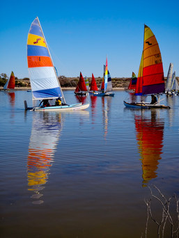 Outback Spirit Lake Eyre Yacht Club Regatta 2012