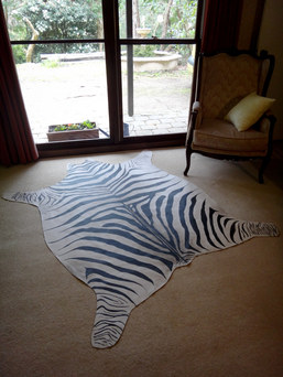 God of Carnage (Zebra rug) - The Bakery, 1812 Theatre Company 2013