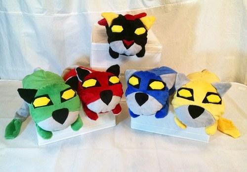 Voltron Lion Loafling Shoulder Pets