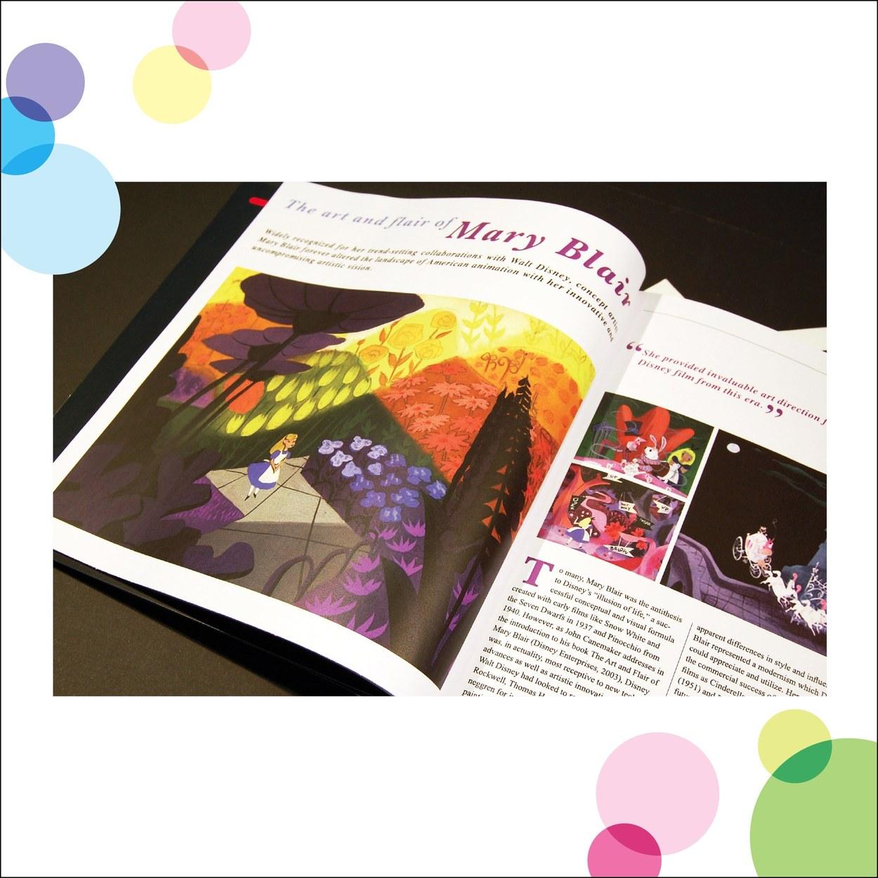 Mary Blair Magazine Layout
