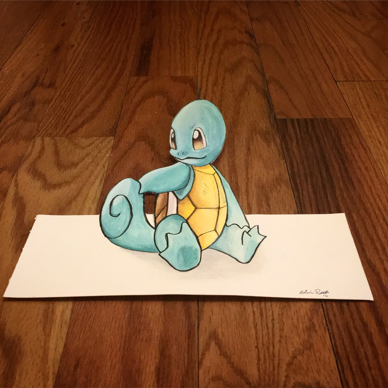 3D Squirtle