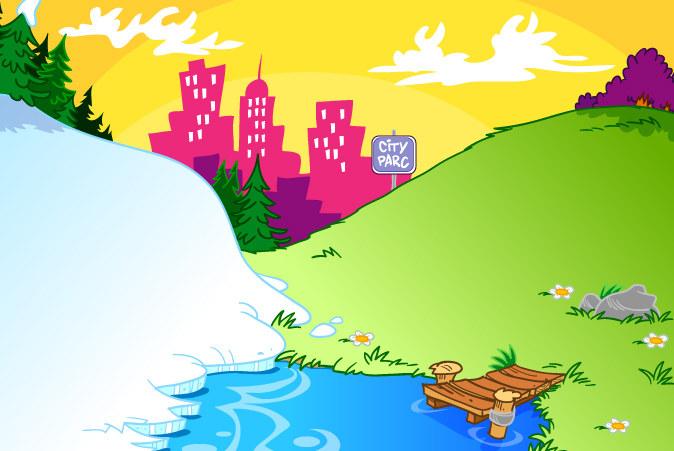 Background Park for Garfield