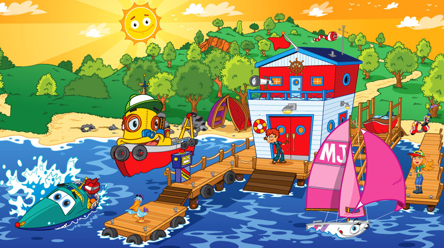 Billy Boatshed ( books & TV show Australia)