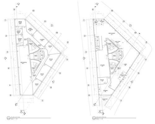 Cellar & Ground Floor Plan