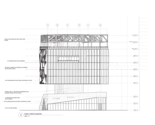 Canal Street Elevation