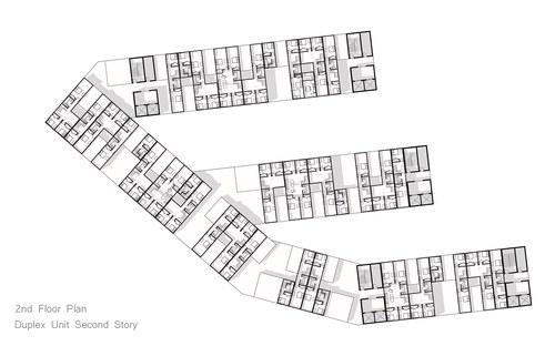 Level 2 Duplex Level Floor Plan
