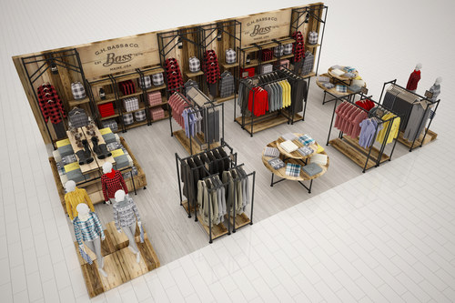Axonometric View - Typical Retail Pad