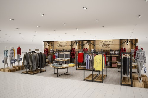 Perspective View, Typical Retail Pad