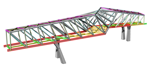Rhino Model - Structural Steel