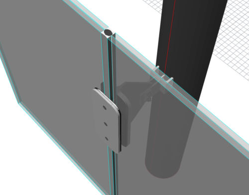 Central Glass Connection Mock-Up
