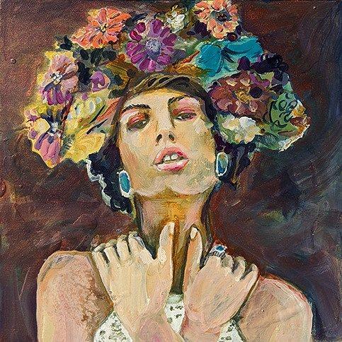 Floral Crown - SOLD