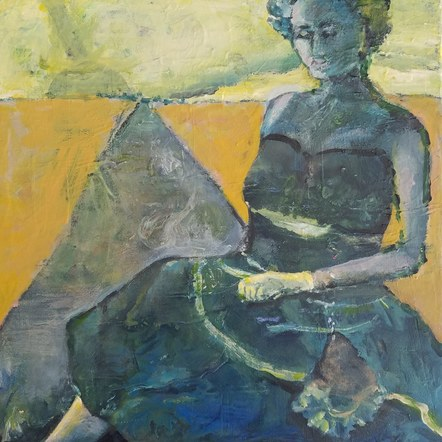 Untitled (Green Dress)
