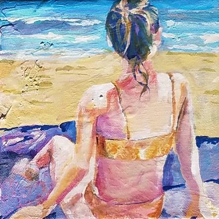 Beach Girl - SOLD