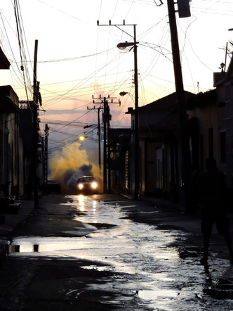 Avond in Trinidad (Cuba)