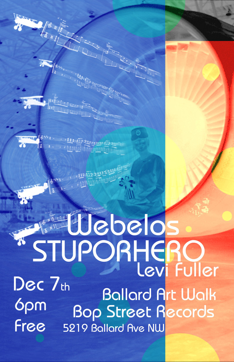 Stuporhero Show Poster
