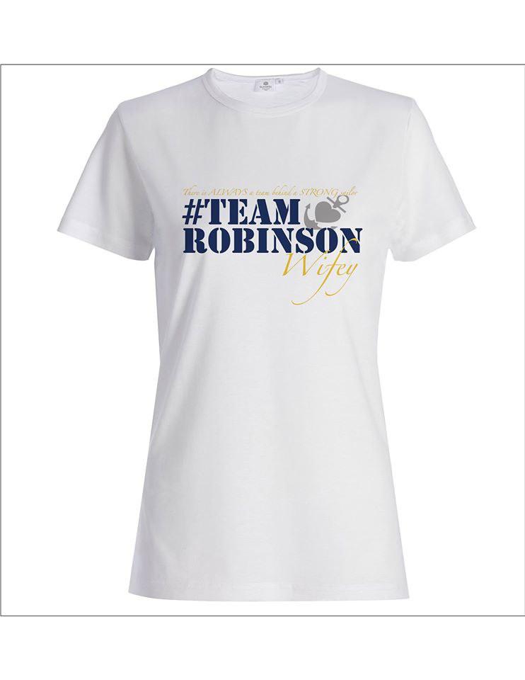 Team Robinson Tee