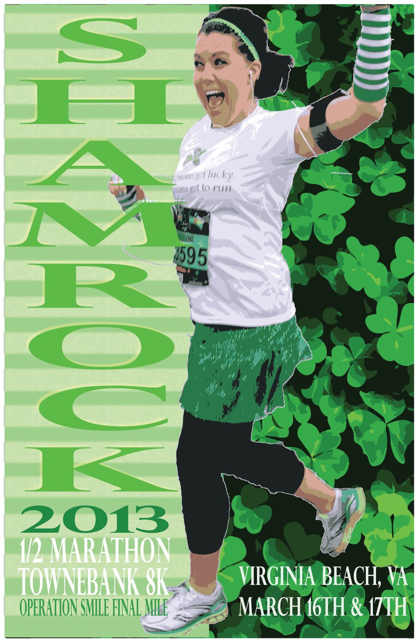 Shamrock Marathon Poster