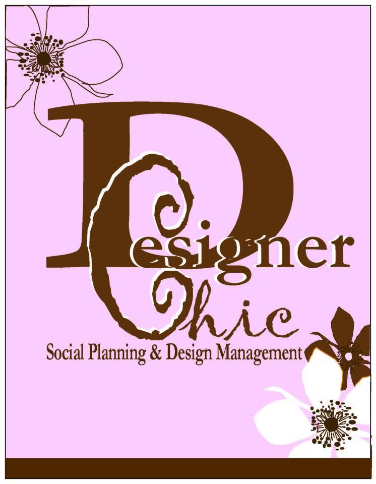 Designer Chic logo floral