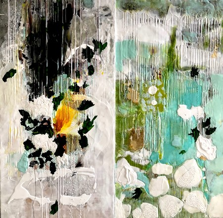 Green sanctuary -diptych
