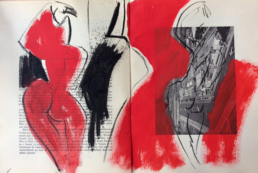 Study in red.