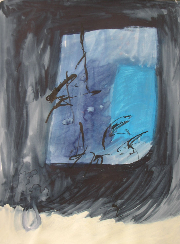 Male Blue - sketch