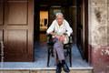 Man in doorway, Havana Vieja, Cuba