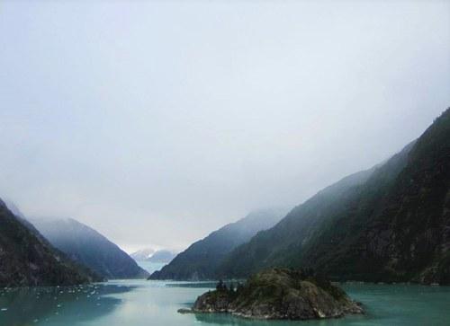 Shot of the Water in Alaska