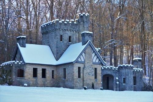 Squire's Castle in Winter