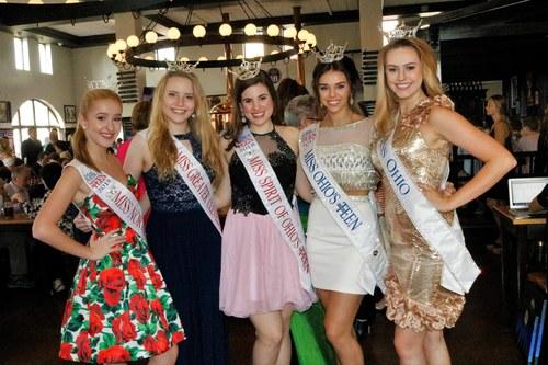 Miss Ohio Girls at Hofbrauhaus