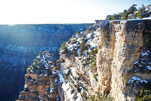 Winter over the Canyon
